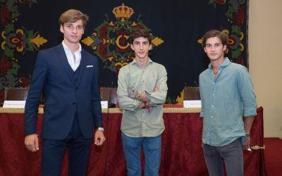 Manolo Vázquez, González-Écija y Manuel Perera, la savia nueva en el Labradores