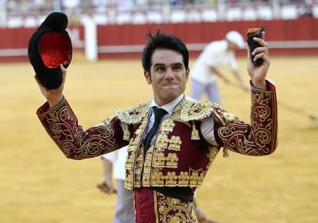 //Andalucia// 17-8-2015  Malaga Feria Taurina de Malaga 2015, plaza de toros la malagueta, corrida de feria para los toreros Salvador Vega, Daviz Galan y Fernando Rey Fotografo  ANTONIO PASTOR