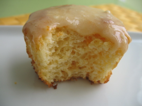 Orange marmalade muffins with cream cheese frosting