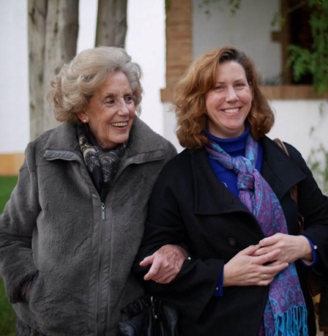 Ave Maria Farm Amadora mother and Amadora daugther