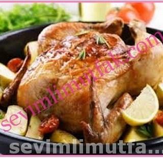 Fırında Bütün Tavuk Nasıl Pişirilir?
