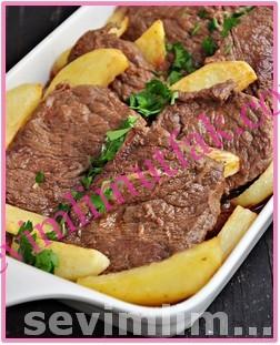 Fırında Patatesli Et Yemeği Nasıl Yapılır?