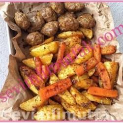 Fırında Köfte Patates Nasıl Yapılır?