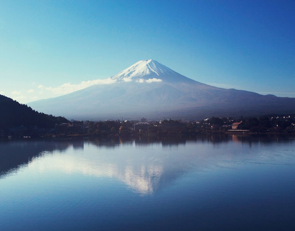 Kawaguchiko Monte Fuji
