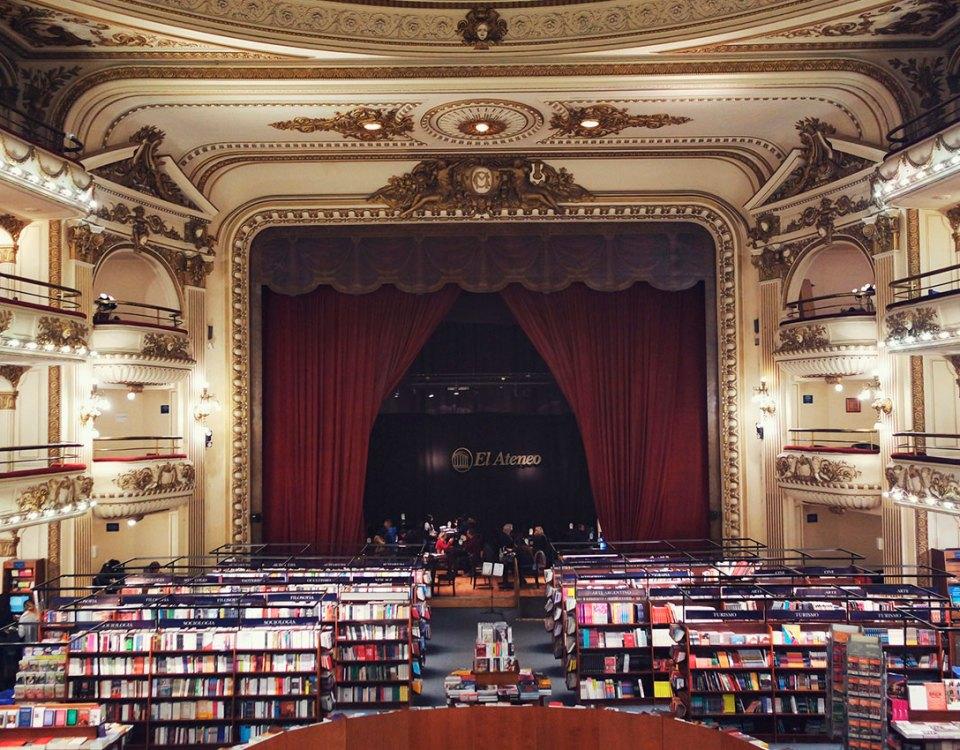 Livraria-El-Ateneo-Grand-Splendid,-em-Buenos-Aires