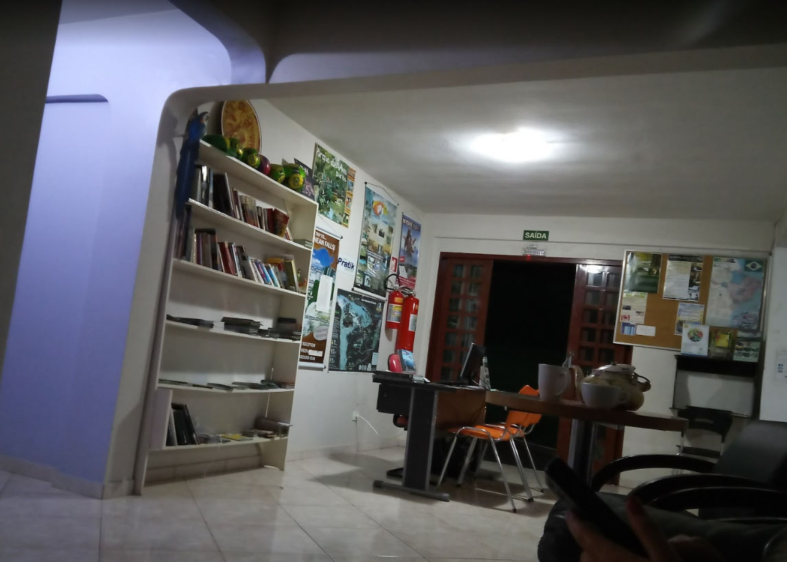 recepção Iguassu Guest House