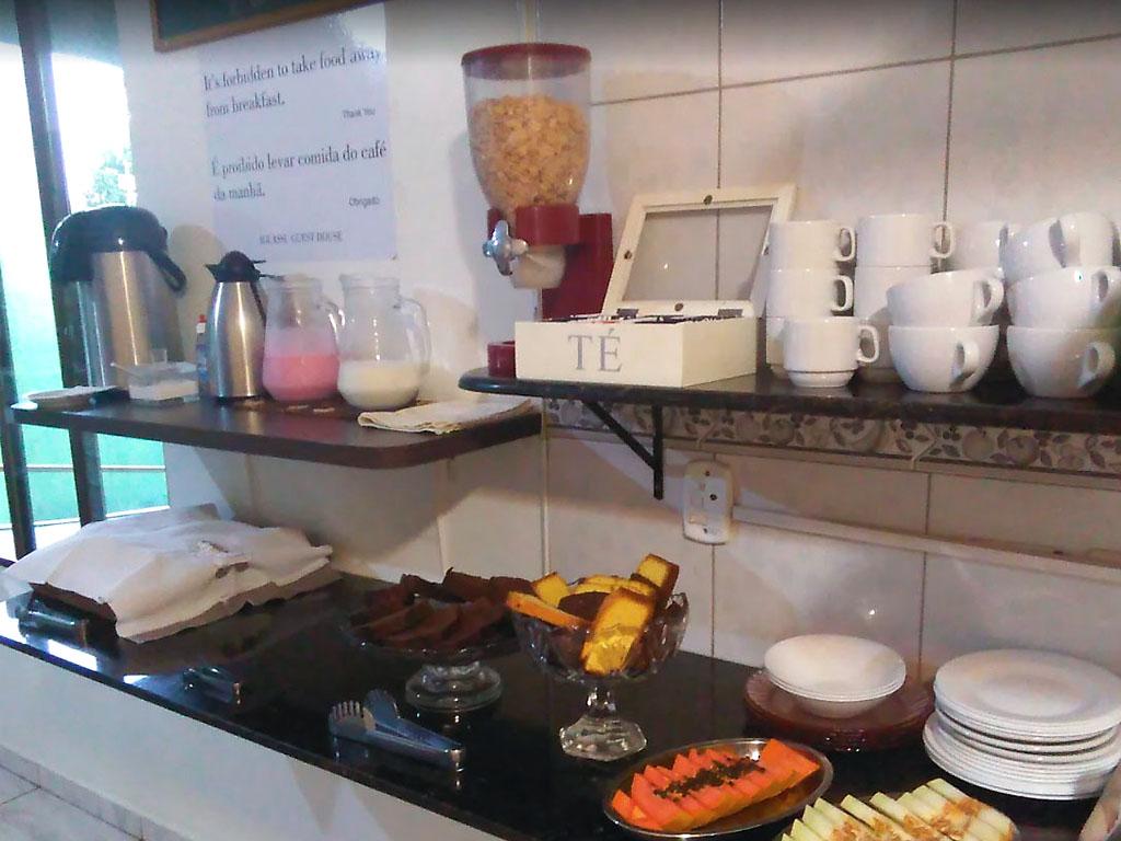 café da manhã Iguassu Guest House