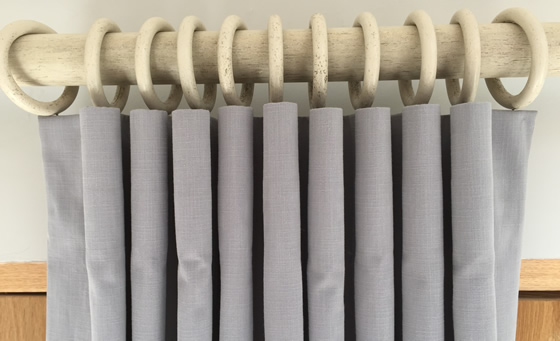 Tutorial How To Make Hand Cartridge Pleated Lined Curtains