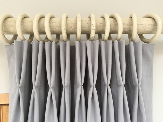 Tutorial How To Make Lined Hand Pinch Pleated Curtains Double