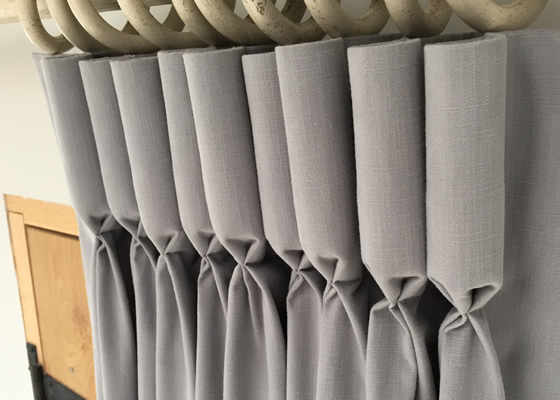 Tutorial How To Make Goblet Pleated Curtains Goblet Pleat Curtain