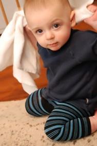 Modelling baby leggings