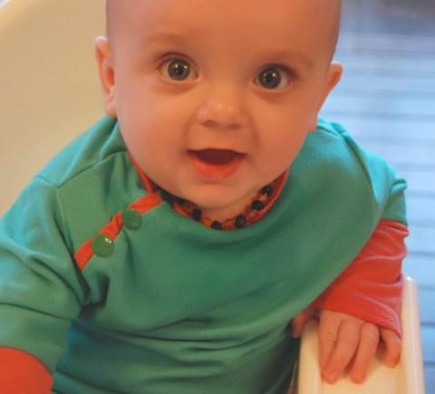 side snap toddler shirt