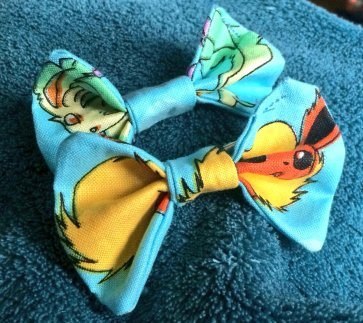 Eeveelutions fabric bows with crocodile slide backing. Great pocket money treat