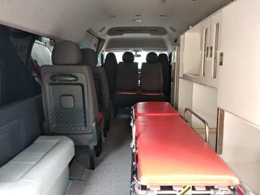 Interior Ambulance HiAce