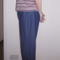 Owyn Pants (Polka Dot Denim) - Lotta Jansdotter: Everyday Style