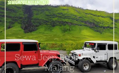 sewa jeep bromo dari malang