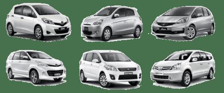 Daftar Kendaraan Rental Mobil Jakarta City Cars