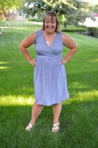Sunshine Dress Front 3