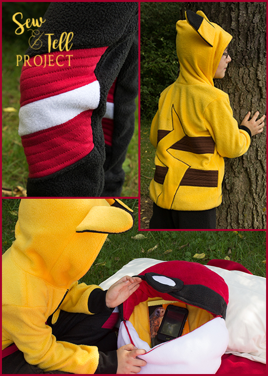 Gotta Catch Some ZZZ's! Project Run and Play - Pokemon Inspired!