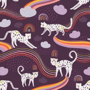 Rainbow Jaguar From Kushukuru Designed By Jessica Swift