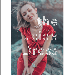 Lucida Dress Pattern By Friday Pattern Company
