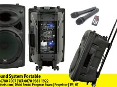 Rental Sound System Portable di Pekanbaru