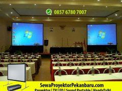 Rental Screen Projector di Pekanbaru