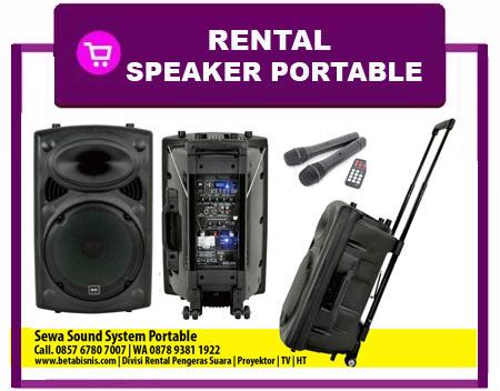 Sewa Sound Portable Pekanbaru