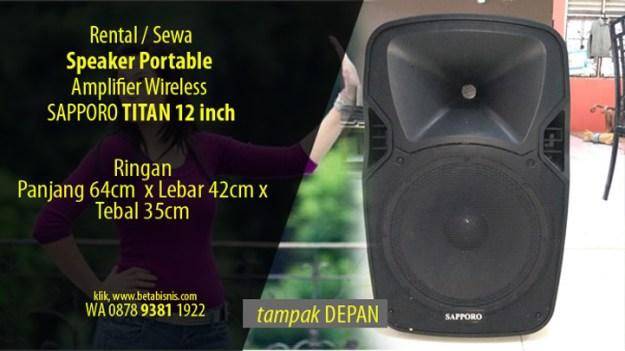 Sewa Speaker Portable Pekanbaru