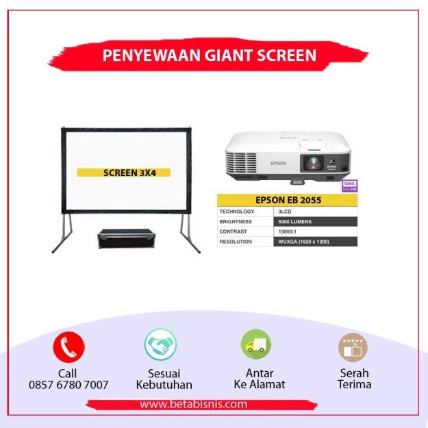 Penyewaan Giant Screen Pekanbaru