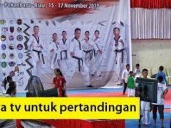 Pertandingan Taekwondo Pekanbaru