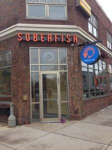 New Soberfish  Signage