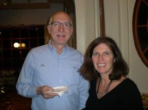 Jim Welna and new SCCA Board Member Kerry Caashman