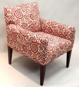 Flowery chair