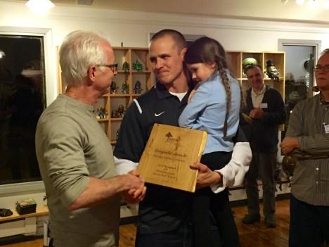 Honor Roll Award Mike Matson Bethany Lutheran