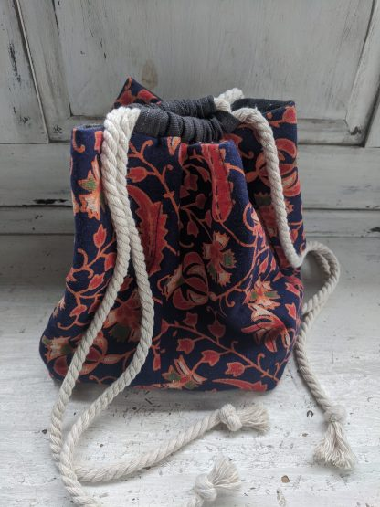 Komebukuro style rice bag