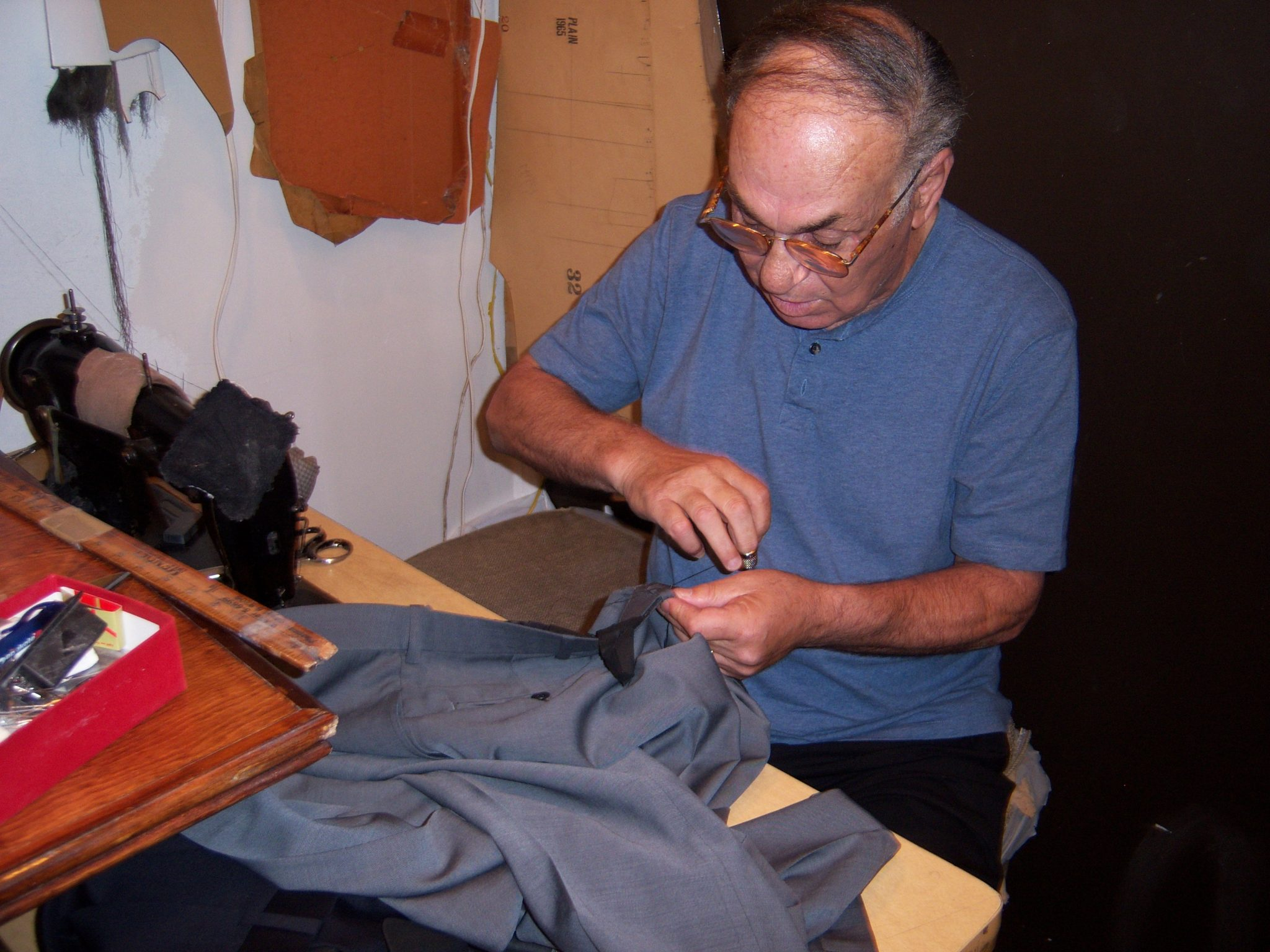 SEWing a masterpiece.