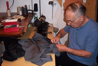 Custom Suits and shirts hand sewn in our NY workshop