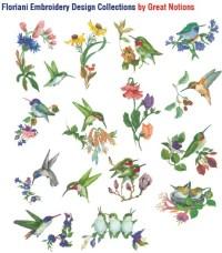 Valerie Pfieffer Hummingbirds + FREE SHIPPING - Sew ...