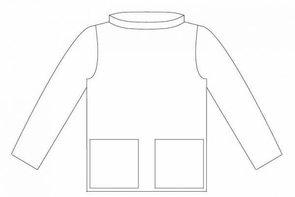 Artist's Smock – sewing pattern – paper or PDF
