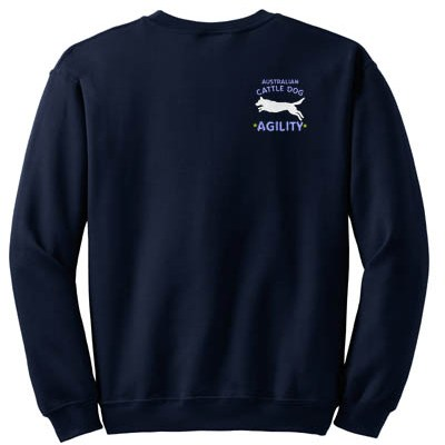 Cattle Dog Agility SWEATSHIRT