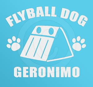 Customizable Flyball Sticker