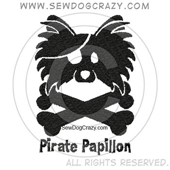 Embroidered Pirate Papillon Shirts