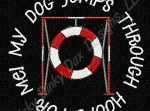 Tire Jump Agility Embroidery