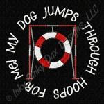 Tire Jump Agility Embroidery