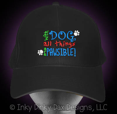 Pawsible Dog Lover Hat