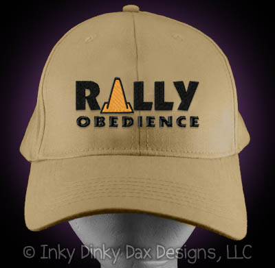 Embroidered Rally Obedience Hat