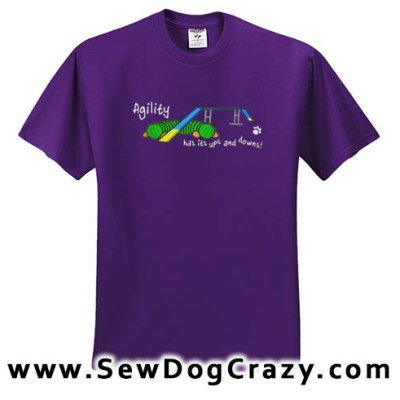 Ups and Downs Agility TShirt