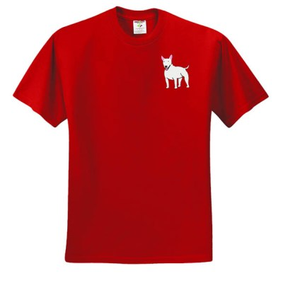 Embroidered Bull Terrier T-Shirt