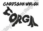 Unique Cardigan Welsh Corgi Embroidery